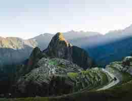 Peru: Mountain range
