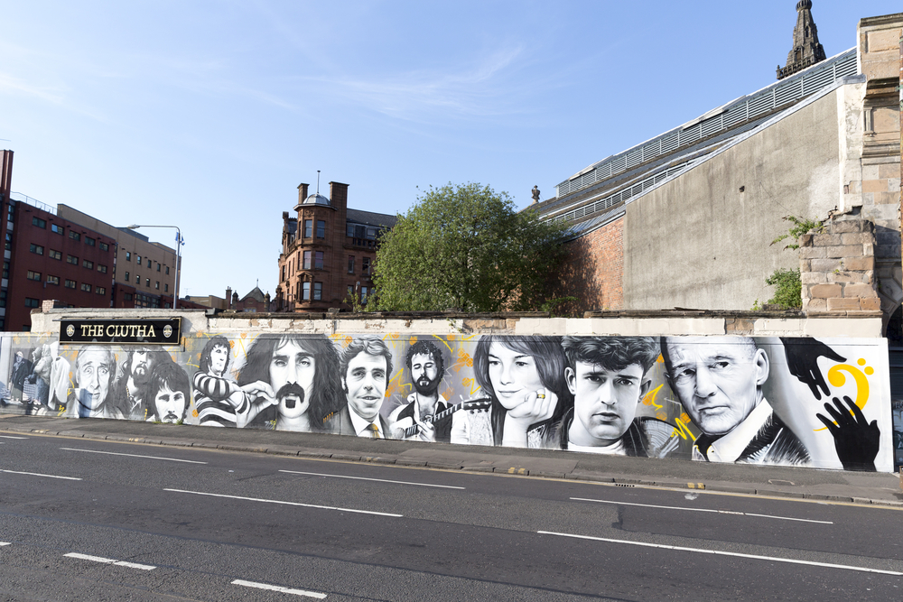 Things to do in Glasgow: mural trail