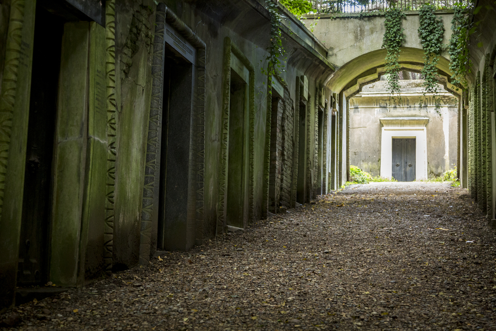Highgate Cemetary: Dark side of London