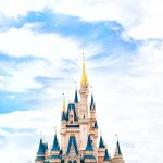 Cinderella's castle in Walt Disney World Florida