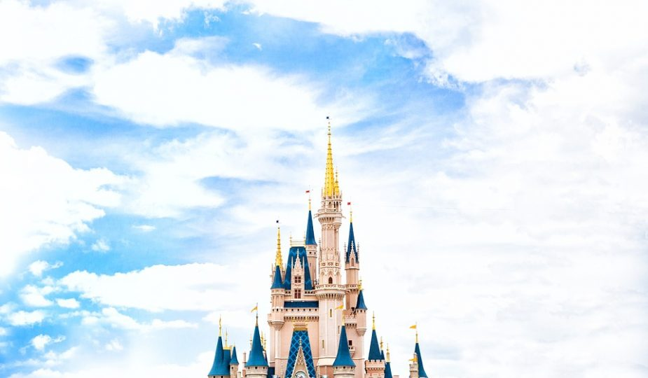 Cinderella's castle in Walt Disney World Florida