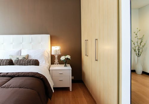 Up at night: double bedroom