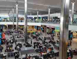 Heathrow airport@ London Heathrow terminal 4 transfers to central London.