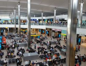 Heathrow airport@ London Heathrow terminal 4 transfers to central London.