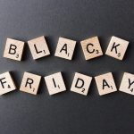 best Black Friday coupons: Black Friday spelled using scrabble letters.