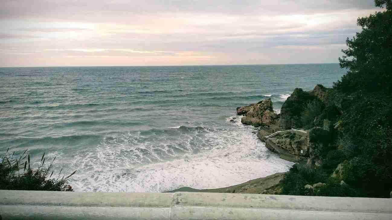 Nerja: view of sea