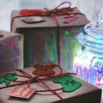 don't like to gift wrap : gifts in boxes.