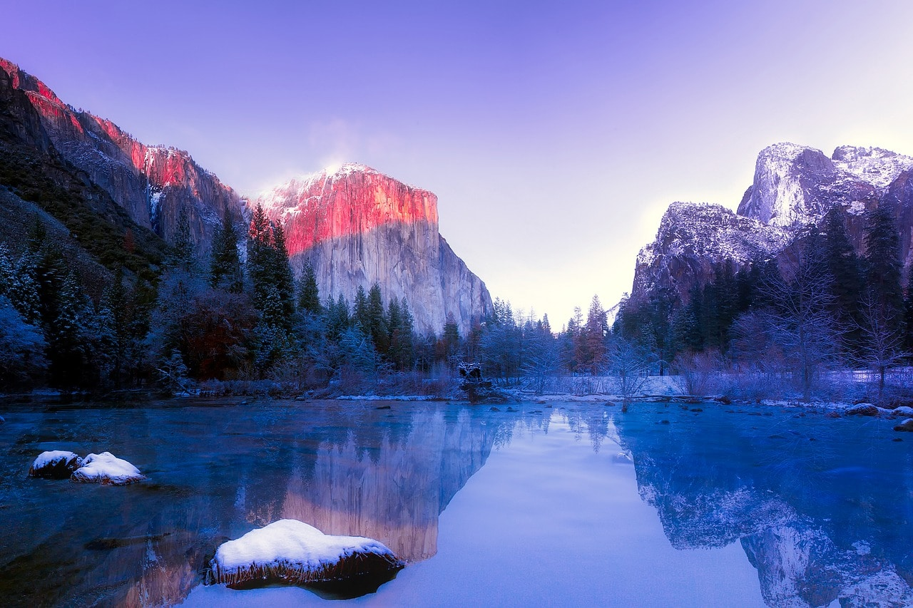 California glamping locations