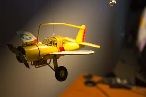 yellow radio controlled planes