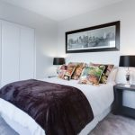 choosing the perfect bed: large double bed in room.