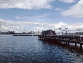 Pier: Float trip
