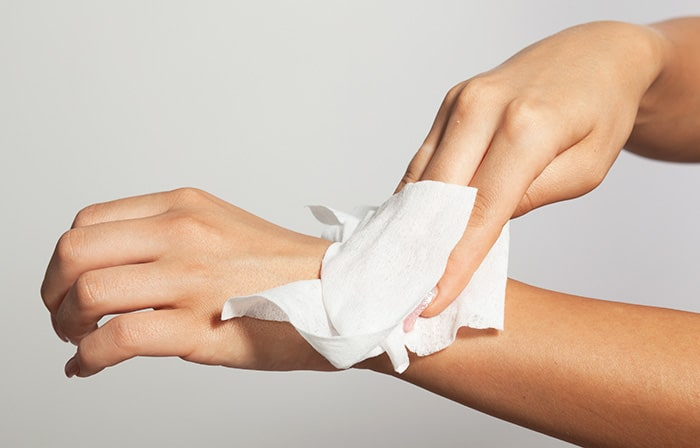 stay clean with body wipes