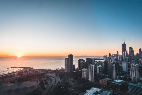 places to visit in Chicago: Chicago skyline