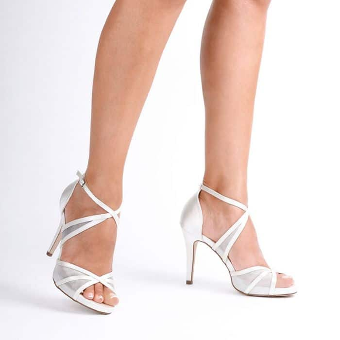 Hinoa Ivory Wedding Shoes