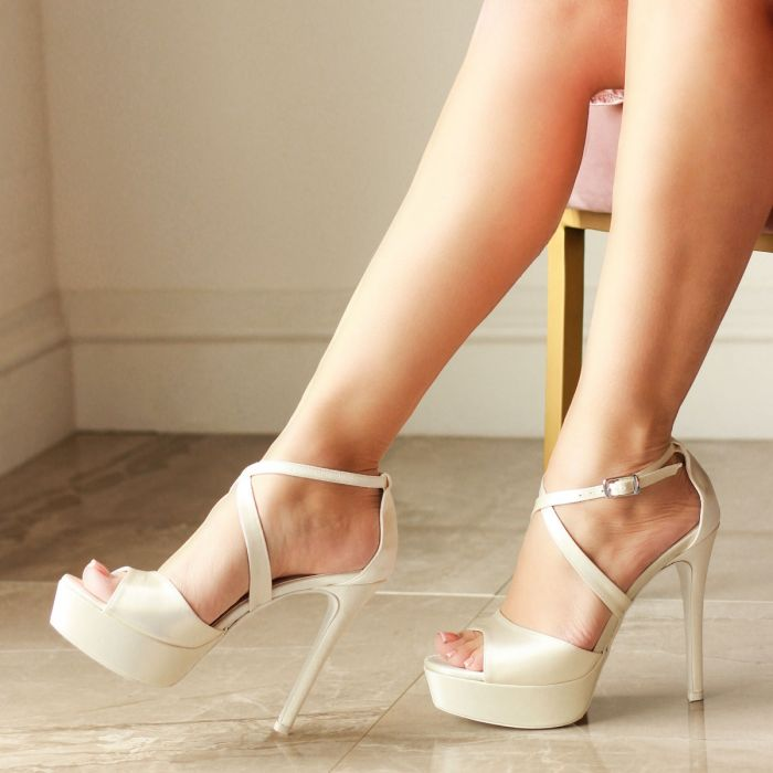 Verna Ivory Wedding Shoes