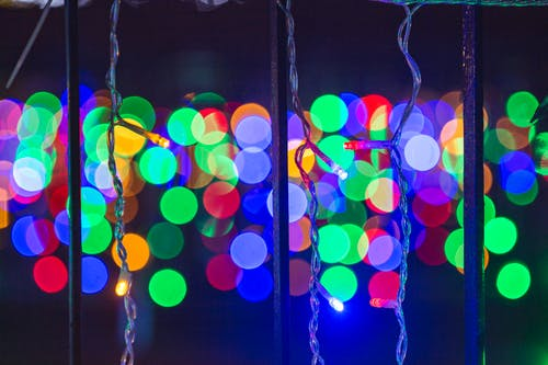Close up of Christmas lights: Guide to Christmas Lighting