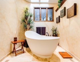 spa style in your bathroom