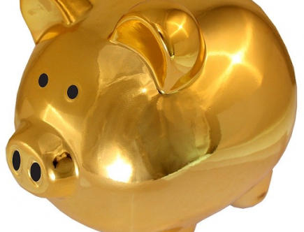 boosting your savings: golden piggy bank
