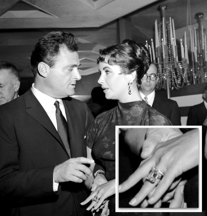 The Many Engagement Rings Of Elizabeth Taylor Mike Todd