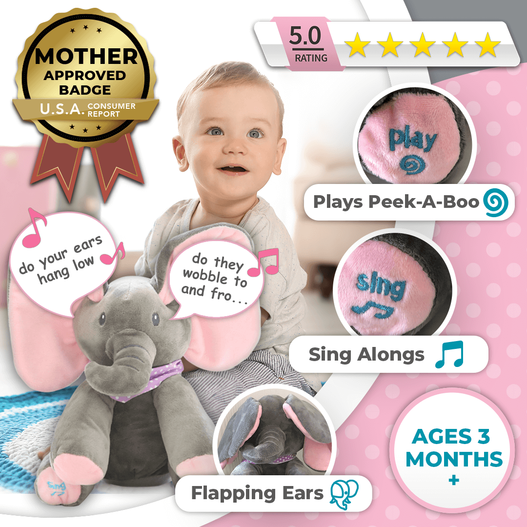 Perfect Christmas Gifts for Kids: Elza the Elephant