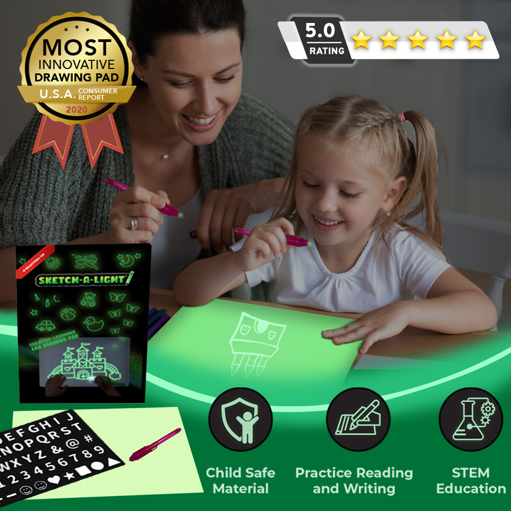 Perfect Christmas Gifts for Kids: Sketch a Light