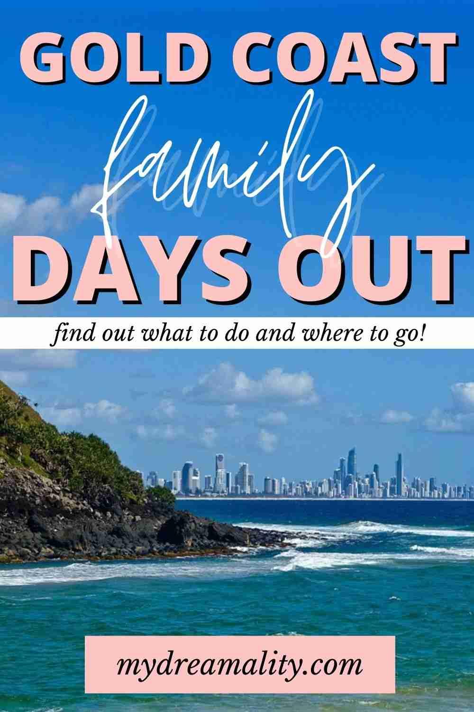 Family Days on the Gold Coast Pinterest image.