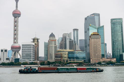 best restaurants in Shanghai. Shanghai from the River.