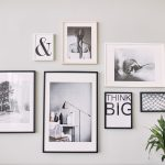 best artwork for home: collection of frames on wall