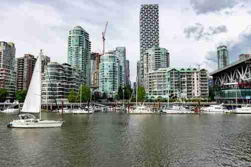 Vancouver skyline: Vancouver winters