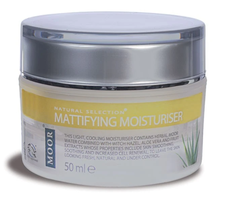 moor mattifying moisturiser