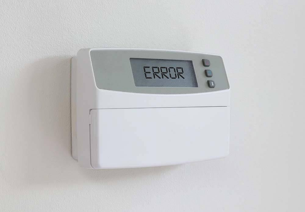 thermostat stopped working